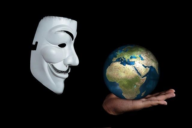 アノニマス anonymous 世界 セキュリティアタック 脅威