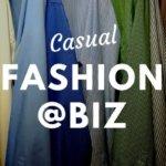 ビジネスカジュアルファッション